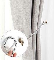 FDY Curtain Tieback Hooks, Stainless Steel Curtain Holder Window Door Holdback Wall Hook Clothes Holder