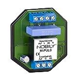NOBILY *** Das Steuerrelais M-Puls für einen Motor speichert einen Fahrbefehl für 180 Sekunden Selbsthaltezeit – Trennrelais für Rolladenmotor, Rohrmotor, Rolladenantrieb, Jalousiemotor, Raffstoreantrieb / Jalousietaster, Rolladenzeitschaltuhren, EIB-Rolladenaktoren und diversen Steuerungen mit potentialfreien Kontakten
