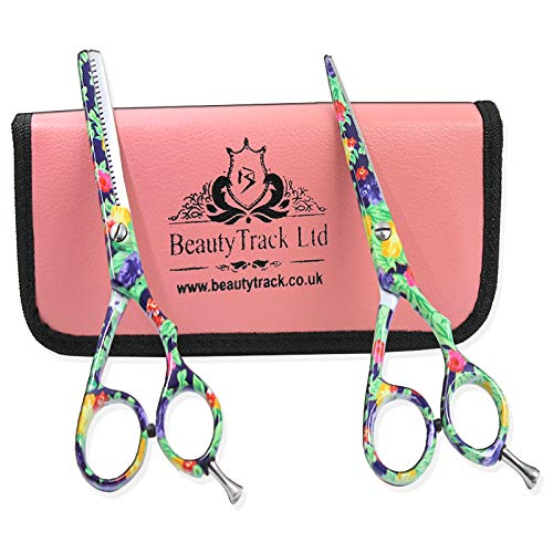 BeautyTrack Cheveux Ciseaux - Ciseaux de coiffure professionnels - Ciseaux de coiffure - longueur 6 - 6.5\
