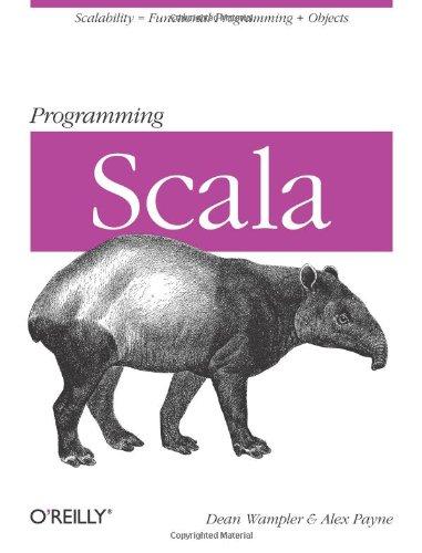 Programming Scala: Scalability = Functional Programming + Objects por Dean Wampler
