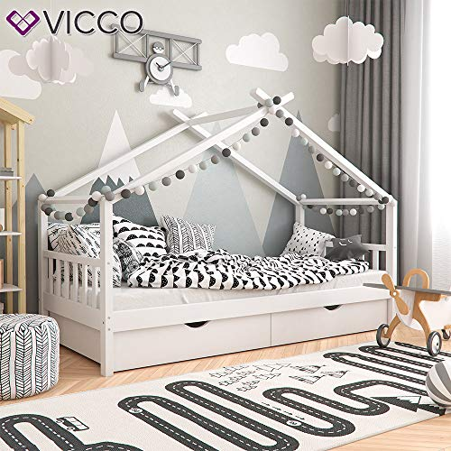 Vicco Kinderbett Hausbett Design