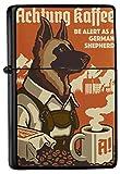 LEotiE SINCE 2004 Feuerzeug Benzin Sturmfeuerzeug Bedruckt Deutscher Schäferhund