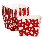 Spedizioni da Hong Kong. Il pacchetto comprende set di tazze di carta da forno di 48. Le materie prime sono pasta di legno e rivestimento in PE. Cerca l'intera linea di articoli Simply Baked per un intrattenimento semplice, elegante e di tutti i gior...