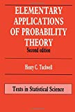 Elementary Applications of Probability Theory: With an Introduction to Stochastic Differential Equations (Chapman & Hall Statistics Textbook Series)