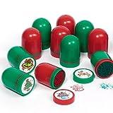 Kunststoff-Stempel-Weihnachtsmotive