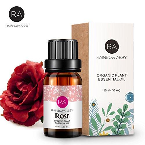 Olio essenziale di rosa 10 ml - Olio di aromaterapia puro al...