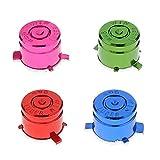Ensemble 4pcs Remplacements Boutons de Balles en Aluminium pour Manette PS3/PS4 - Multicolore