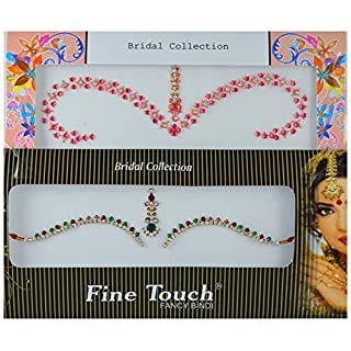 Avx Fashion Bridal Crystal Bindis Temporary Tattoo Body Stickers Many Sizes (Z7)