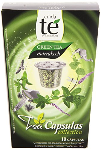 Cuida Té - Capsulas de Té Verde - 10 cápsulas