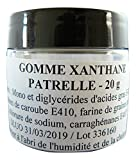 Gomme xanthane 20 g.