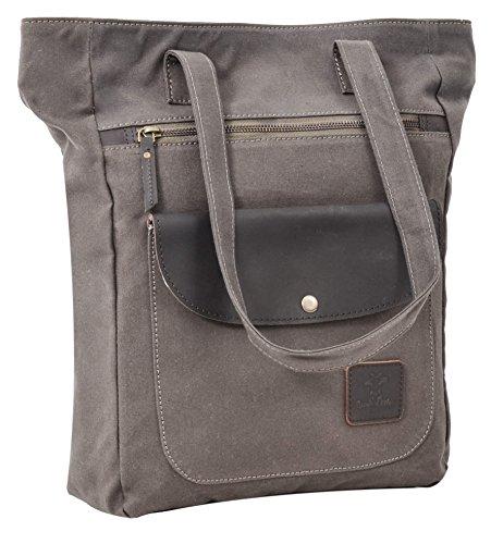 gusti-leder-studio-aria-genuine-leather-canvas-shoulder-shopper-tote-handbag-vintage-style-dark-gree