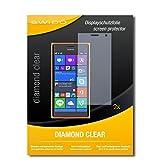 2 x SWIDO® Bildschirmschutzfolie Nokia Lumia 730 Dual Sim Schutzfolie Folie