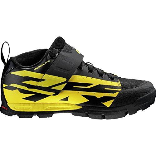 MAVIC Deemax PRO Scarpe MTB Uomo, Yellow Black/Black - Nero, 46