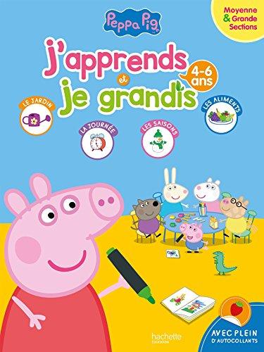 Peppa Pig J'apprends et je grandis MS-GS (4-6 ans) par Collectif