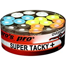 30 Overgrip Super Tacky Tape colore tennis grips Cinta para mango de raqueta de tenis