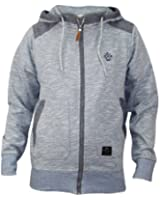 Men's Crosshatch Branded Top Full Zip Jacket Hoodie Jumper Cardigan