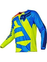 Fox Jersey 180 Nirv Amarillo/Azul - amarillo, L