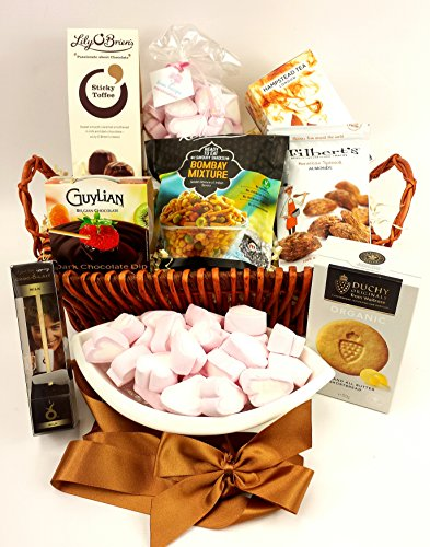 Tea & Chocolate Hamper ----- Marshmallows, Tea & Biscuits