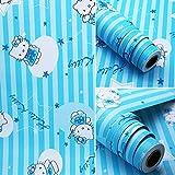 Papier peint de bande dessinée imperméable usine de papier peint direct salon papier peint dortoir - 45 cm * 10 m