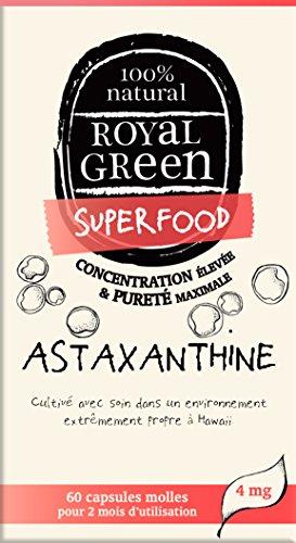 Astaxanthine 100% naturelle avec lutéine et vit. E - 60 gélules