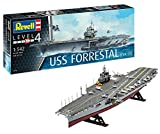 Revell Maqueta Portaaviones U.S.S. Forrestal (CVA-59), Modello, Escala...