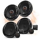 JBL Frontal/Trasera 16,5cm/165mm Auto Altavoz/Cajas/Speaker Set Completo para VW Volkswagen