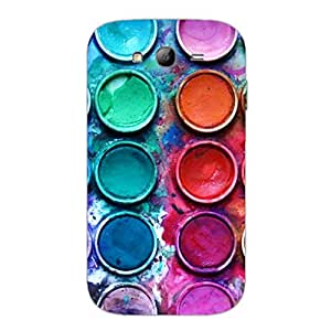 Designer Cute Phone Cases for Samsung Grand Duos 9082-Water Colour Palatte