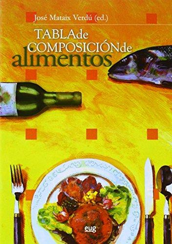 Tabla de composición de alimentos. Quinta Edición (Monográfica/Biblioteca de Ciencias de la Salud)