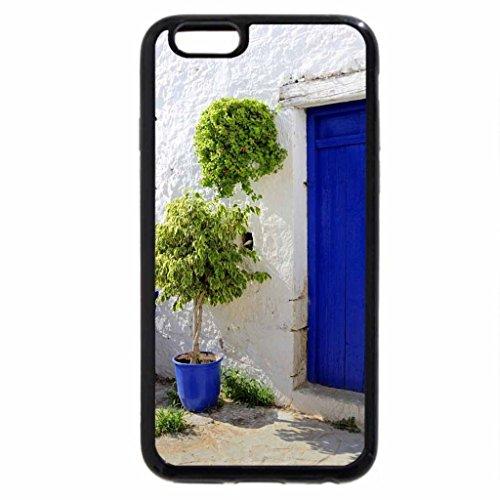 iPhone 6S / iPhone 6 Case (Black) Italian courtyard