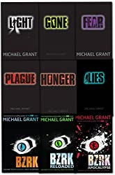 Gone series Michael Grant Collection 8 Books Set (Eve and Adam, BZRK, Plague,...