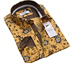 Russell & Giles - Chemise Casual - Manches Longues - Homme - Jaune - X-Large