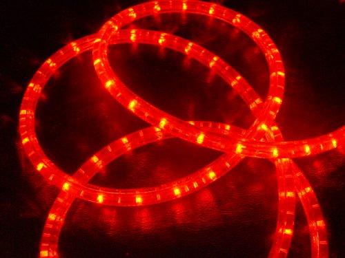 LED LUZ MANGUERA MANGUERA DE LUZ DE LUZ INTERMITENTE CONTROLADOR ROJO RED 2–50METROS LUCES DE NAVIDAD  230 00 VOLTSV