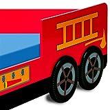 Feuerwehrbett inkl. Lattenrost Deuba - 3