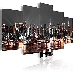Idea Regalo - murando - Moderno Quadro su acrilico vetro 200x100 cm - 5 Parti - Quadro - Stampa in qualita fotografica d-A-0022-k-p