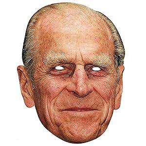 Gifts 4 All Occasions Limited SHATCHI-1145 - Máscara de Shatchi-Prince Philip para fiestas de disfraces o despedidas de soltera