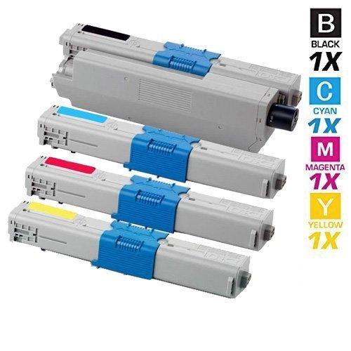 4 Schneider Printware Toner mit 50{f7afd5000e7729335d27b4f2f4a221a621b7bf64e9a4727ce8473722bc5ed21b} mehr DRUCKLEISTUNG nach (ISO-Norm 19798) ersetzen Oki C310dn C330dn C331dn C510 C511dn C531dn C530dn MC352 MC351 MC352 MC361 MC362 MC561 MC562,