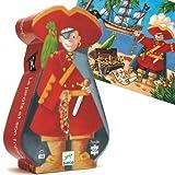 Puzzle Djeco silhouette Pirate 36 pieces Enfants garçons 4 ans +