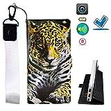 HYJPT Hulle fur Haier Phone L53 Hülle Flip PU-Leder + Silikon Cover Case Fest BZ