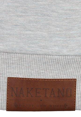 Naketano Male Sweatshirt Kubilay VI Stone Grey Melange