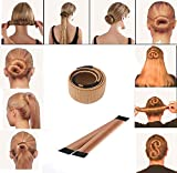 Covermason Damen Fashion DIY Haarstyling Tool Donut Hair Bun Maker & Fashion Haare Dutt Styling Werkzeug