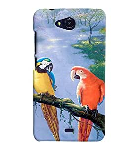 GADGET LOOKS PRINTED BACK COVER FOR Micromax Bolt Q355 MULTICOLOR