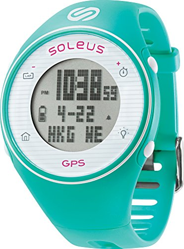 soleus-gps-one-running-watch-mint-white