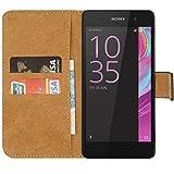 kwmobile Hülle für Sony Xperia E5 - Wallet Case Handy