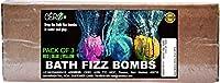 CERO Non Toxic - Bath Fizz Colour Bombs - Red | Blue | Yellow