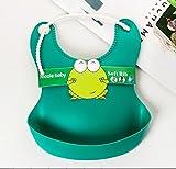 #1: Swash Baby Silicone Bib / Waterproof Bid / High Quality Silicone Bib (Persian Green)