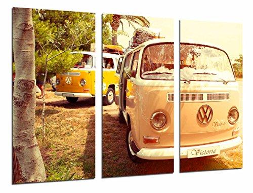Cuadros Camara Poster Fotográfico Furgoneta volkswagen vintage hippie