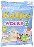 Katjes Wolke 7 – Leckere Schaumzucker Süßigkeiten als Wölkchen-Form, Rosarote Brille, Herzen und mehr - Leckere Süßigkeiten für die ganze Familie (175g)