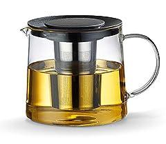 Idea Regalo - tosnail teiera da 1,5litri con filtro in metallo