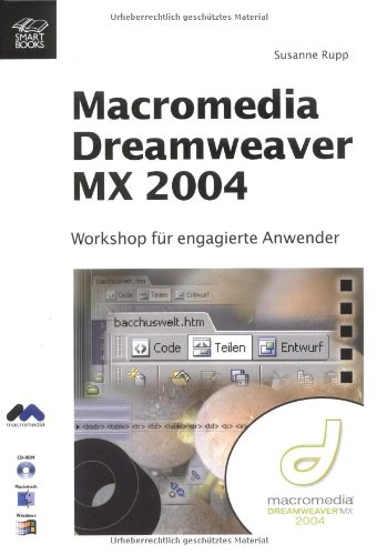 Macromedia Dreamweaver MX 2004, inkl. CD-Rom -