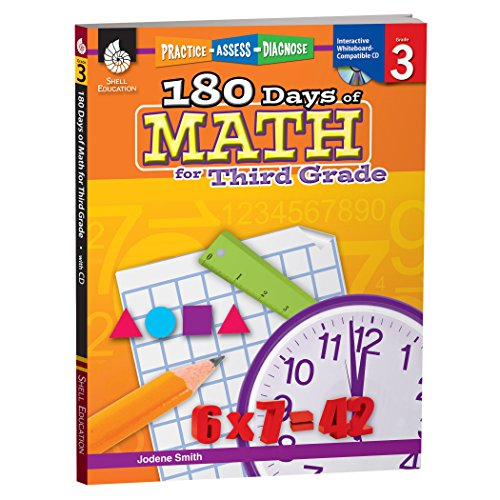 180 Days of Math for Third Grade: Practice, Assess, Diagnose (180 Days of Practice)